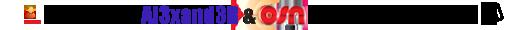 Exclusive: Al3xand3R & OSN HD on ArabScene !!