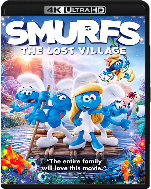 Torrent] - Smurfs The Lost Village 2017 UHD BluRay 2160p