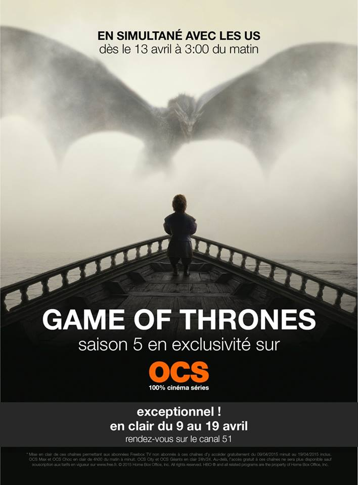 Game Of Thrones S05  FULL 2015 | HDTV-720p مترجم -- Seeders: 3 -- Leechers: 0