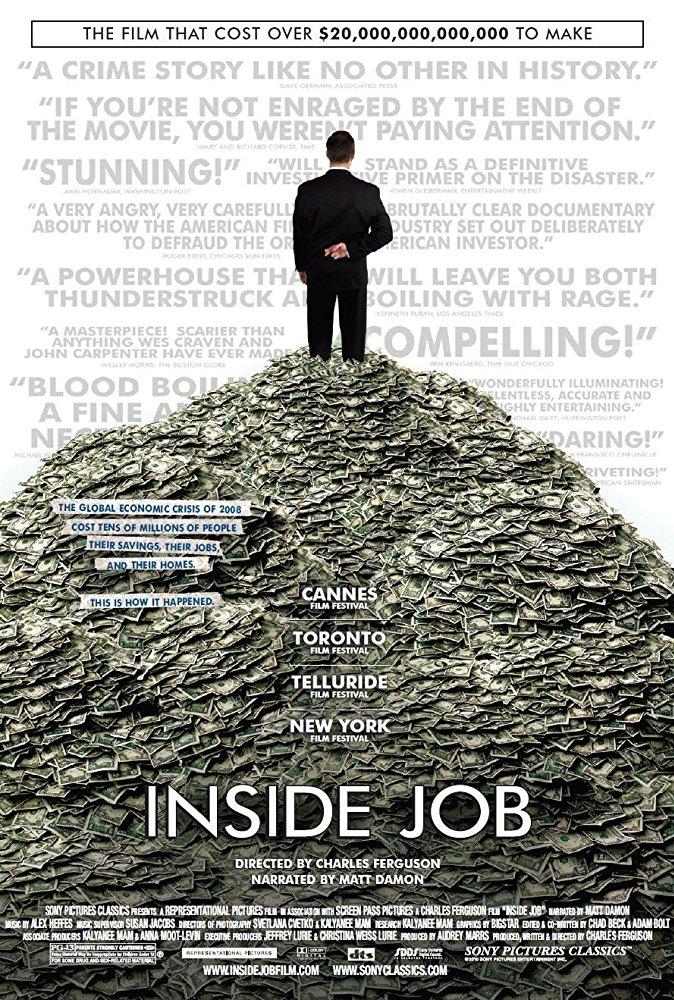 مترجم Inside Job [1080p] [2010] الفيلم الوثائقى -- Seeders: 2 -- Leechers: 0